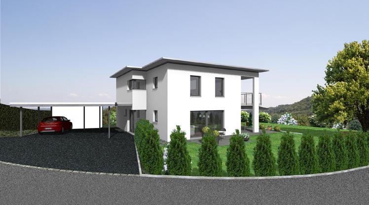 Einfamilienhaus forellenweg bellach architektur und for Raumgestaltung architektur