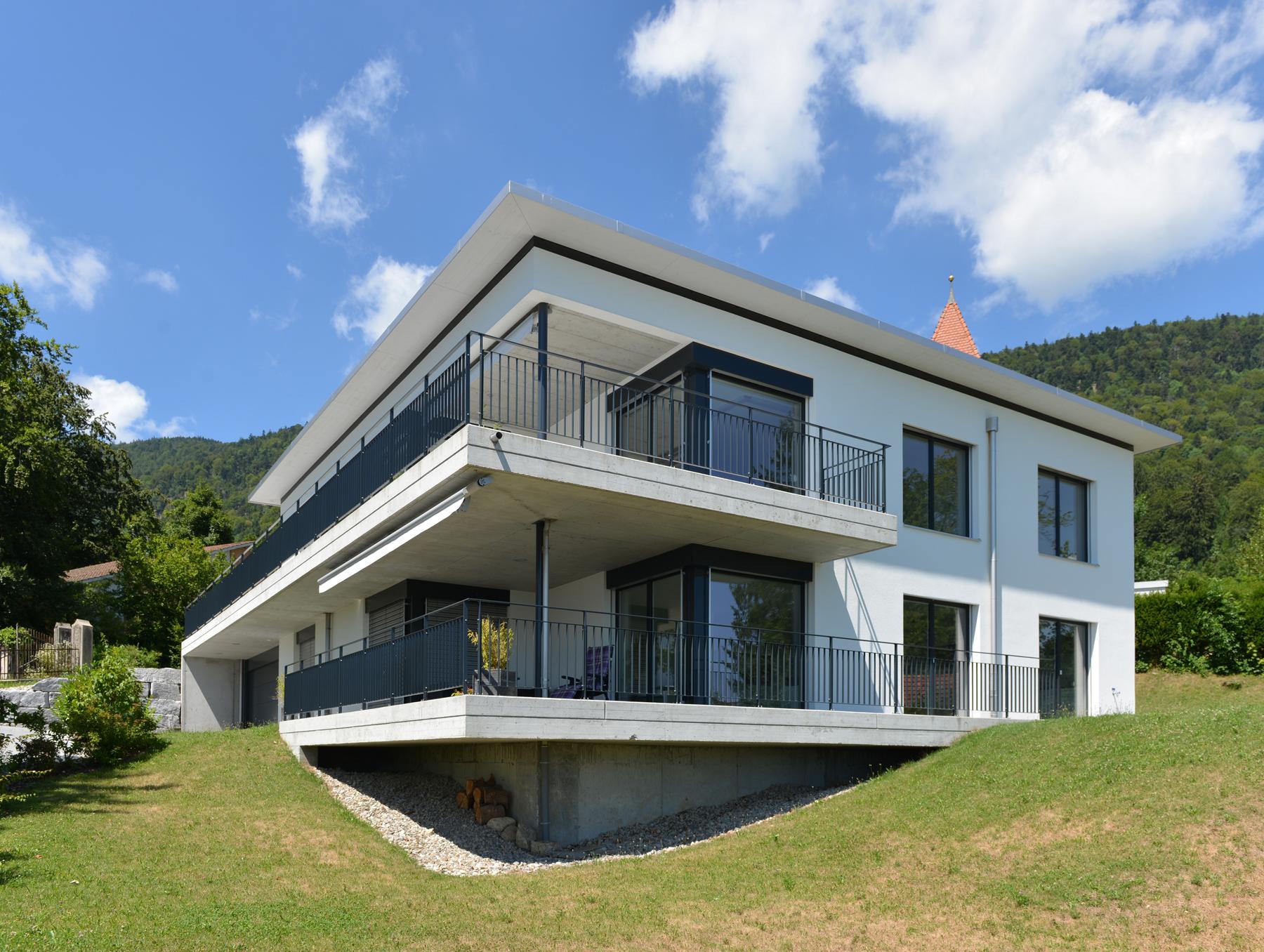 Architektur und raumgestaltung ag 2 familienhaus for Familienhaus