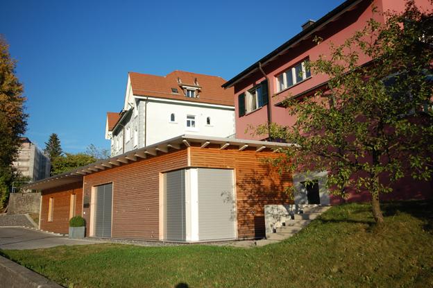 Anbau chiro praxis kastelsstrasse grenchen architektur for Raumgestaltung architektur