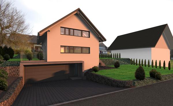 Efh am lanzweg in arch architektur und raumgestaltung ag for Raumgestaltung architektur