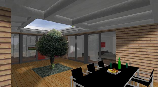 Einfamilienhaus in luterbach architektur und for Raumgestaltung architektur
