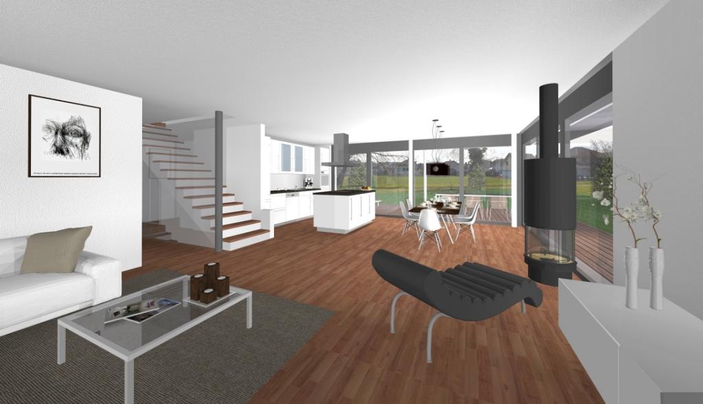 Efh in kriegstetten architektur und raumgestaltung ag for Raumgestaltung architektur