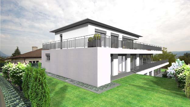 Eigentumswohnungen jurastrasse bettlach architektur und for Raumgestaltung architektur