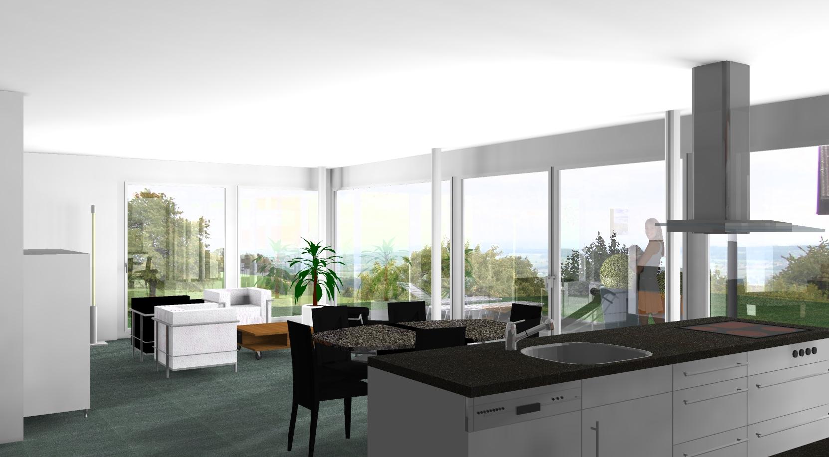Einfamilienhaus allmendstrasse bettlach architektur und for Raumgestaltung architektur