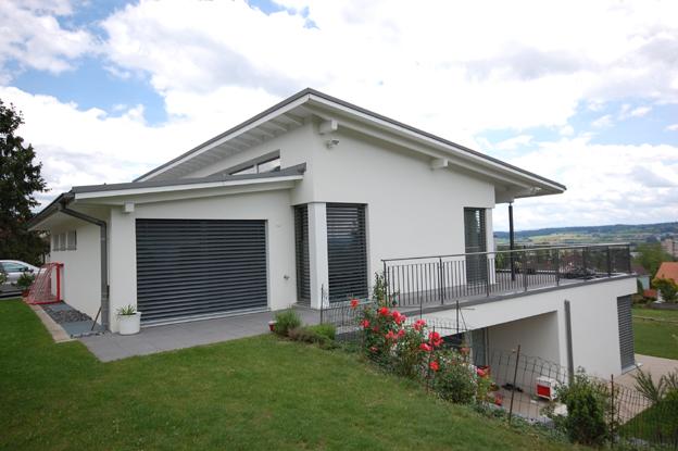 Einfamilienhaus chr zliacherstrasse bettlach architektur for Raumgestaltung architektur