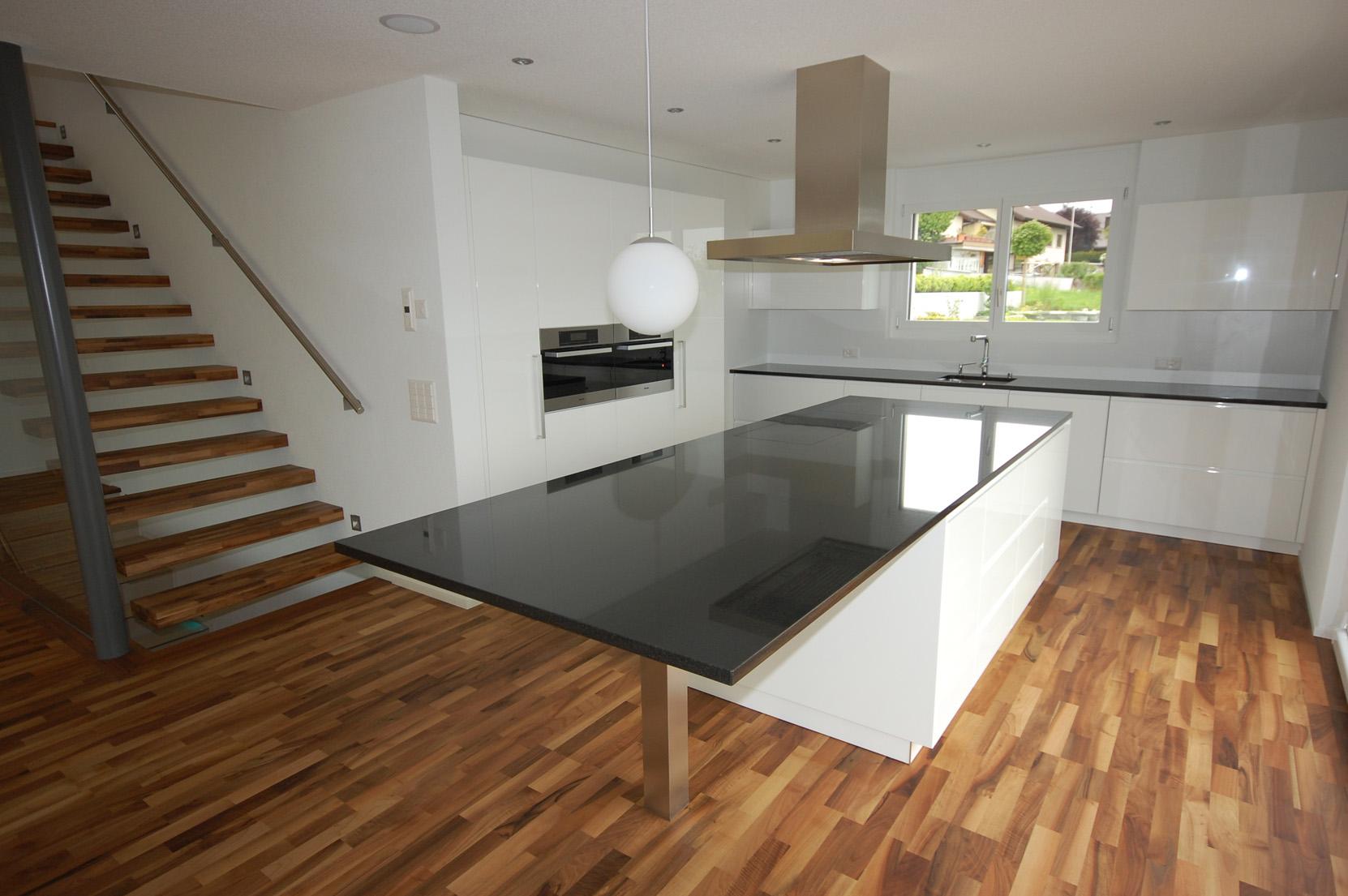 Einfamilienhaus geissackerweg bettlach architektur und for Raumgestaltung architektur
