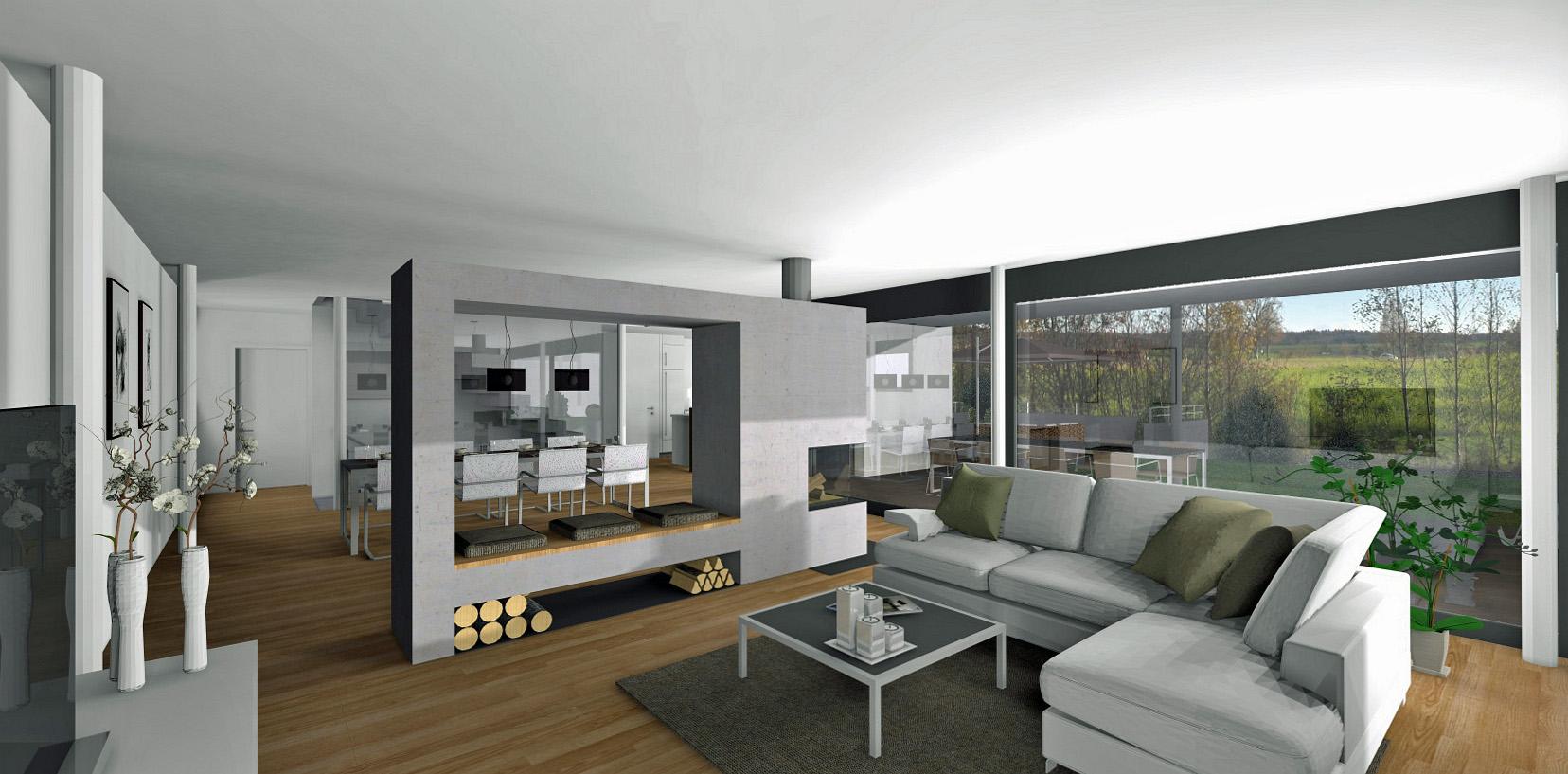 Einfamilienhaus im verenam sli in subingen architektur for Raumgestaltung architektur
