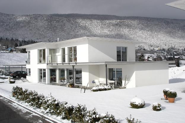 Einfamilienhaus grotweg grenchen architektur und for Raumgestaltung architektur