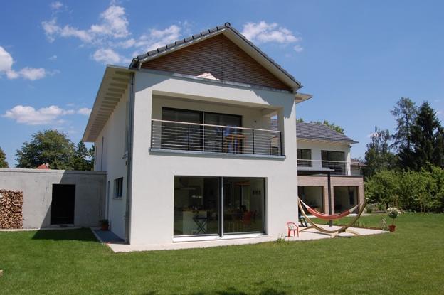 Einfamilienhaus chrummg ssli altreu selzach architektur for Raumgestaltung architektur