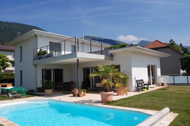 Einfamilienhaus nagelschmiedeweg bettlach architektur for Raumgestaltung architektur