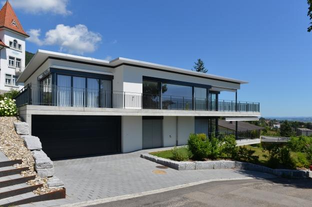 2 familienhaus waldeggstrasse grenchen architektur und for Raumgestaltung architektur